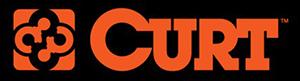Curt logo, trailer hitch, ball mounts, bike racks