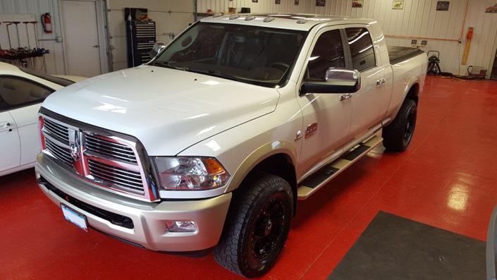 Dodge Ram exterior detailing