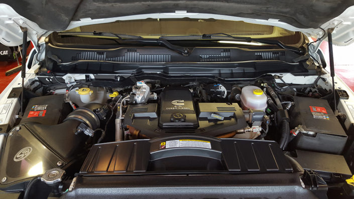 Dodge Ram engine detailing