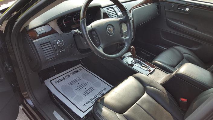 Cadillac Interior detailing