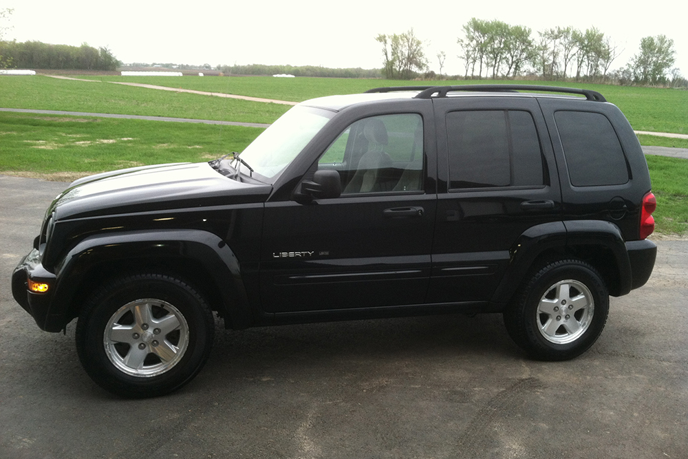 Jeep SUV detailing
