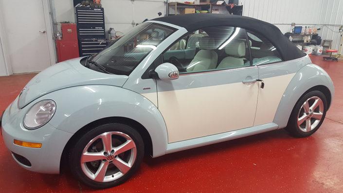 VW bug detailing, Volks Wagon detailing
