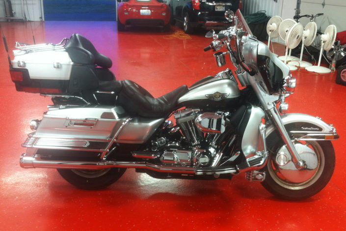 Motorcycle detailing by Diamond Detailing