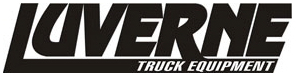 Luverne truck equipment logo, mud flaps, undersea storage, pull bars, running boards, step bars